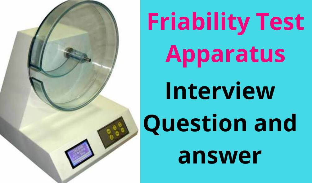Interview question and answer on friability