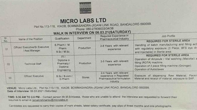 micro-labs-ltd-walk-in-interview